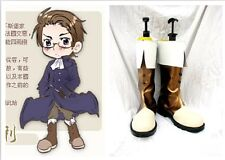 Aph Axis Powers Hetalia Austria Cosplay Costume Boots Boot Shoes Shoe UK