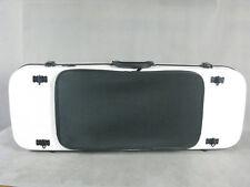 """Beautiful white Glass fiber viola case 15""""-17 inch,Music bag #6886"""