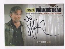 Walking Dead season 4 pt. 2 autograph card Jeff Kober JK2 Ohm Symbol sketch