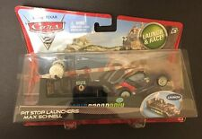 """Disney•Pixar Cars 2 Pit Stop Launchers """"Max Schnell"""" Diecast Car [With Launcher]"""