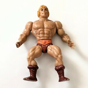 """1982 MOTU Master of the Universe He Man 5.5"""" Soft Head Action Figure Toy Taiwan"""