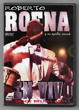 ROBERTO ROENA Y SU APPOLO SOUND - EN VIVO BELLAS ARTES / SAN JUAN, PR 2003