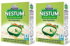 Nestle Nestum Infant Cereal Stage-2(8 to 24 Months)Rice Vegetable-300gm x 2 pack