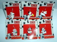 DISNEY 101 DALMATIANS MINI CHRISTMAS ORNAMENT SET OF 6 NEW ON CARD