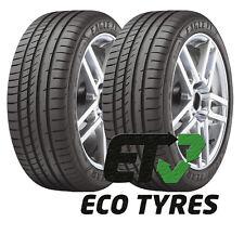 2X Tyres 225 40 R18 88Y GoodYear Eagle F1 Asymmetric2 RFT E B 69dB