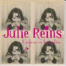 JULIE REINS - L'ENFANCE EN BANDOULIERE - CD SINGLE  CARDSLEEVE  PROMO 1T 2006