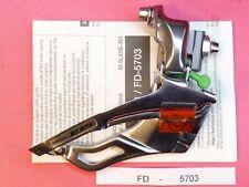 Shimano 105 FD 5703 ( 10 x 3 ) Triple Front derailleur mech - NOS