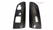 REAL CARBON FIBER POWER WINDOW SWITCHES PANEL COVER FOR 04-11 LHD MAZDA RX-8 JDM