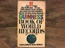 Guinness Book of World Records 1974 by McWhirter, Edited and Compiled By Norris