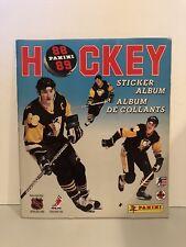 MARIO LEMIEUX PANINI 1988 STICKER ALBUM NHL HOCKEY BRAND NEW UNUSED VERY RARE!