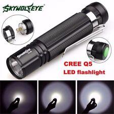 NEW 7W CREE Q5 LED 1200lm Mini Flashlight Torch Light 14500/AA Lamp Waterproof