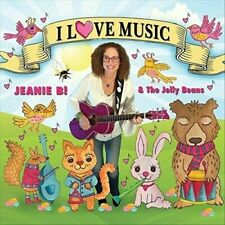 JELLY BEANS (CHICAGO)/JEANIE B - I LOVE MUSIC USED - VERY GOOD CD