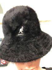 Kangol FUR    New Genuine/ORIGINAL BUCKET CAP BLACK