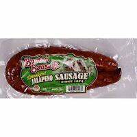 Burton Smoked Jalapeno Sausage 12 Oz (4 Pack)