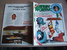 GUERIN SPORTIVO=N.1 (115) 1977PANATTA SPORTIVO DELL'ANNO=UN ANNO DI SPORT=