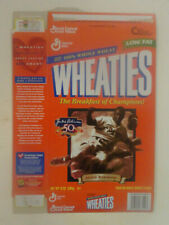 JACKIE ROBINSON 50th Anniversary WHEATIES Empty Cereal Collectors Box