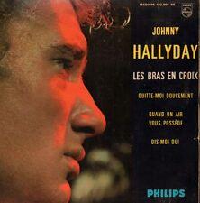 "Johnny Hallyday(7"" Vinyl P/S)Les Bras En Croix EP-Philips-432 908 BE-Fr-VG/VG"