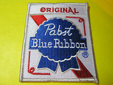 BEER PATCH PABST BLUE RIBBON ORIGINAL BEER LOOK AND BUY NOW FREE SHIP PBR BEER