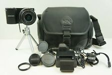 Samsung NX1000 20.3MP Digital Camera - Black (Kit w/ NX 20-50mm Lens) BUNDLE