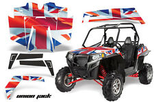 AMR Racing Polaris RZR 900XP Sticker Graphic Kit Decal UTV Parts 11-14 UNION JK