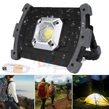Powerful 100000LM COB LED Work Light Rechargeable Emergency Flood Lamp Stand