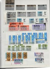 GB - Stock book mix of QEII pre-decimal Commemorative mainly MNH stamps (ref2)