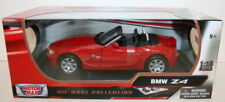 Voitures, camions et fourgons miniatures rouge Z4