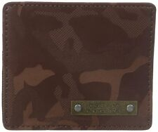 Diesel Men's Dakkar Johnas I Wallet Card Holder Brown Camo X03790-P0180-T2189