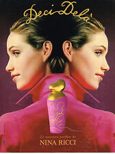 PUBLICITE ADVERTISING 024   1994   NINA RICCI  parfum   DECI-DELA