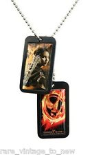 NEW Hunger Games NECA - Katniss Everdeen Mockingjay Dog Tags Necklace Dog Tags