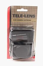 TELE-LENS FOR CANON SUPREME, new IN ORIG PACKAGE set of 2