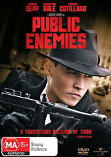 Public Enemies - Action / Thriller / Police / Crime / Investigation - NEW DVD