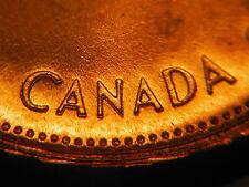 "DOUBLE ""CANADA"" & DOUBLE ""18"" ***** 1967 One Cent ***** CHOICE BU"