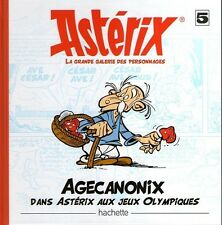 Livre N° 5 AGECANONIX dans Astérix aux Jeux Olympiques Galerie fascicule NEUF