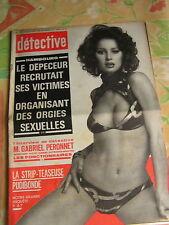 Détective 1975 FARéBERSVILLER  OISSEL