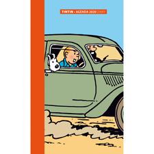 Tintin Hergé – Agenda de poche 2020 – Tintin Aventure et les autos 9 cm x 16cm