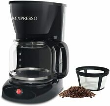 12-Cup Drip Coffee Maker, Coffee Pot Machine Including Reusable And Removable Co