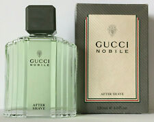 GUCCI NOBILE AFTER SHAVE LOTION 120 ml AS Flakon OVP Vintage Rare
