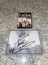 WWE Wrestlemania XIX 19  (Nintendo GameCube, 2003) Signed Torrie Wilson WWF Mat