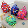 Unsex Toddler Kids Baby Mini Backpack Cartoon Dinosaur School Bags with Rein