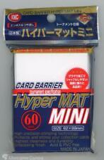 KMC Small Sleeves - Hyper Matt White :: High Quality YuGiOh Card Sleeves x60