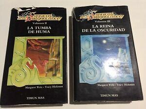 Crónicas de la Dragonlance vol 2 y 3