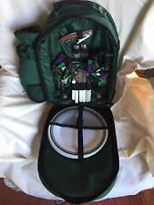 Picnic-for-2 Insulated Backpack Green, Never Used New Condition