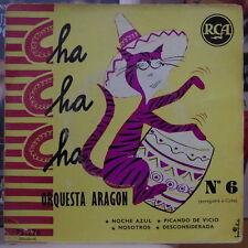 ORQUESTA ARAGON CHA CHA CHA N°6 FRENCH EP RCA