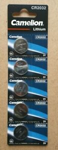 Piles boutons Lithium 3V Camelion / PKCELL CR2032 CR2016