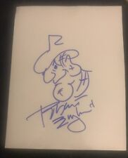 ROBERT ENGLUND SIGNED 8X10 FREDDY KRUEGER SKETCH W/COA+PROOF RARE WOW
