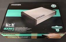 Kicker KX-Series Marine 400 Watt Multi-Channel Amplifier 40KXM4004