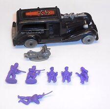 1980's Bluebird Toys - Zero Hour ~ POLECAT GANG HEARSE & Motorbike - ????