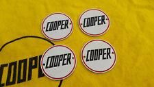 Rover Mini John Cooper Chrome Alloy Wheel Centre Badges Rare Unused S Works Mpi