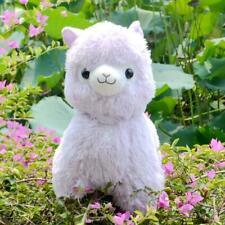 "Japan Amuse Arpakasso Alpacasso Alpaca purple FRESH Lovely Plush Doll 14"" Cute"